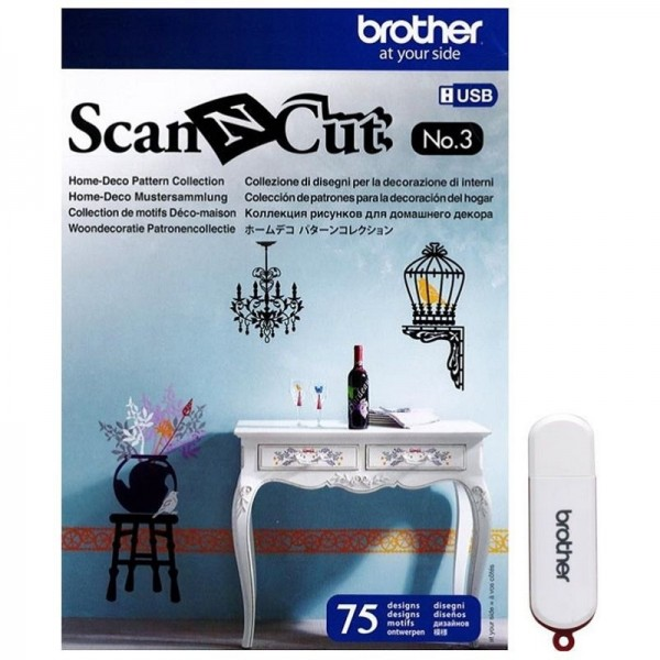 Brother Scan'n'Cut Designs Nr.3