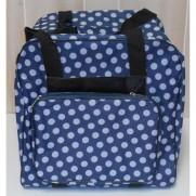 Overlock Tasche  Blau XL