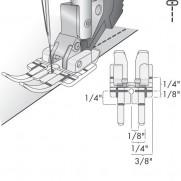 Pfaff Quilt- und Patchworkfuss, Klarsicht für IDT-System