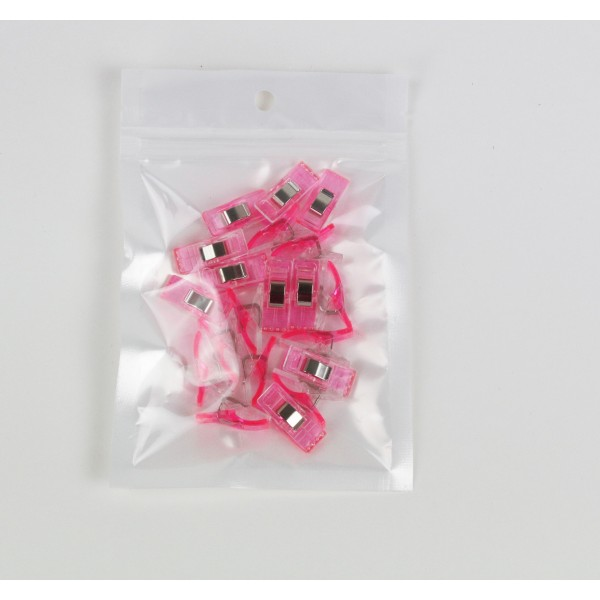 Wonder Clip Stoffklammern Pink