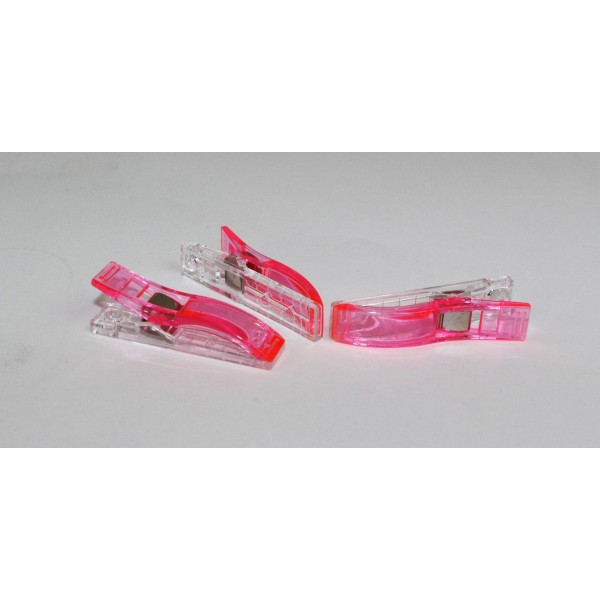 Wonder Clip Stoffklammern Gross Pink
