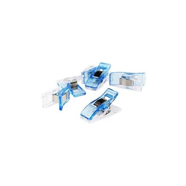 Wonder Clip Stoffklammern Blau