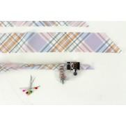 4 Stoff Schrägband Maker Fuss Ahle Nähen Werkzeug 6mm /12mm /18mm /25mm
