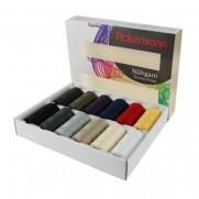 Ackermann Nähgarnset mit 12 Farben