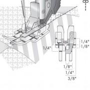 Pfaff Klarsichtfuss für Nähen in der Naht für IDT-System