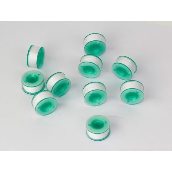 Brother Kunststoffspulen, vorgespult für reine Stickmaschinen
