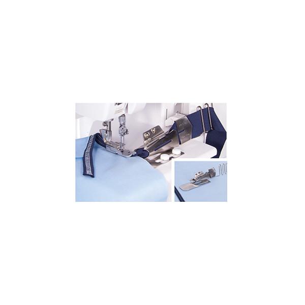 Baby lock Einzelfaltschrägbinder mit Führungsrechen 40 mm - 15 mm